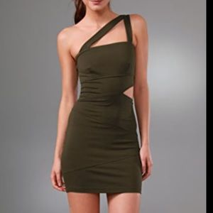 Torn by Ronny Kobo Cut Out bandage dress